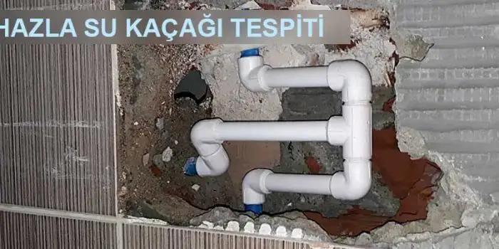 cihaz ile Kaçağı Tespiti